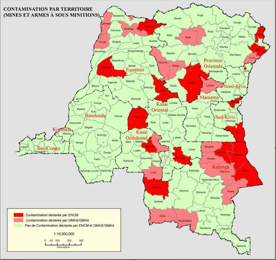Country profile of DRC ACAPS