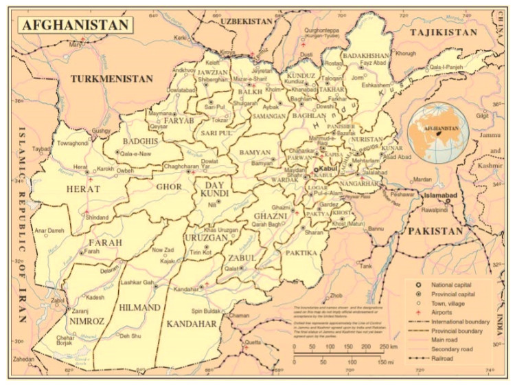 Country profile of Afghanistan ACAPS